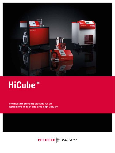 Turbo Pumping Stations - HiCube