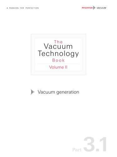 Vacuum generation (Part 3.1)
