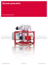 Vacuum solutions from a single source - Product portfolio - 16