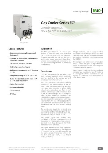 Gas Cooler Series EC®