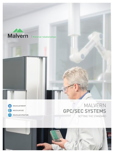 GPC/SEC Systems - Out-of-the-box solutions for the characterization of proteins, synthetic and natural polymers