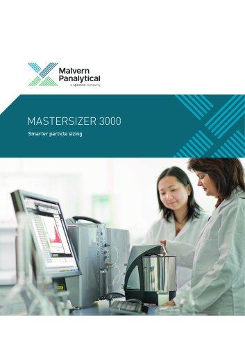 Mastersizer 3000 - Smarter Particle Sizing