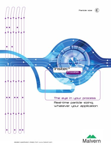 On-line particle characterization overview brochure