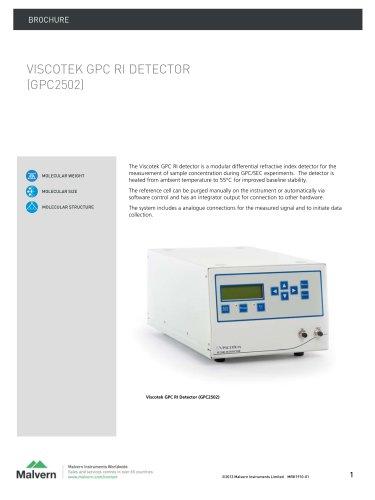 VISCOTEK GPC RI DETECTOR  (GPC2502)