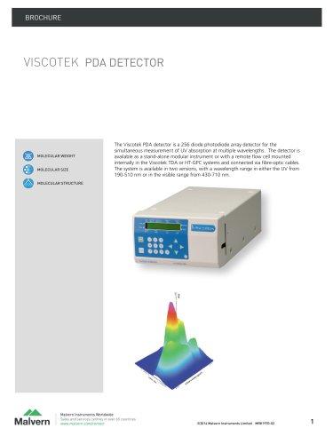 Viscotek UV-PDA Detector