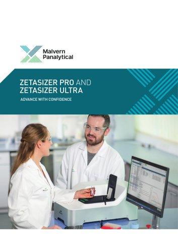 Zetasizer Pro and Ultra