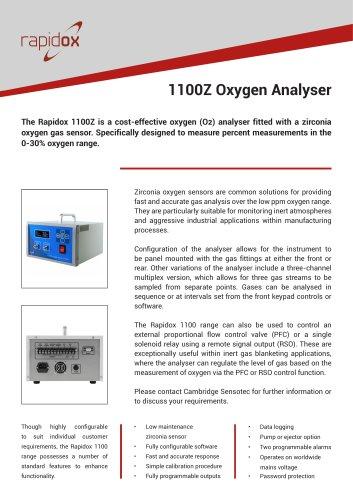 Rapidox 1100 Technical Datasheet