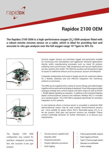 Rapidox 2100 OEM Analyser