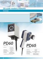 2D Code Reading Sensor PD60 / 65 - 2