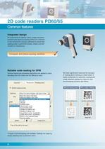 2D Code Reading Sensor PD60 / 65 - 4