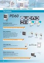 2D Code Reading Sensor PD60 / 65 - 6