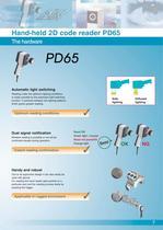 2D Code Reading Sensor PD60 / 65 - 7