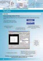 2D Code Reading Sensor PD60 / 65 - 8