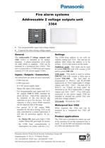 Addressable 2 voltage outputs unit 3364 - 1