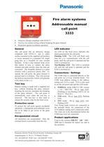 Addressable manual call point 3333 - 1