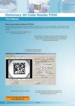 "Brochure ""2D Code Reader PD50"" - 6"