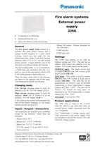 External power supply 3366 - 1