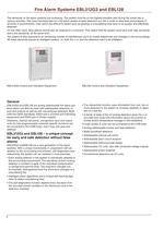Fire alarm system 2011/2012 - 3