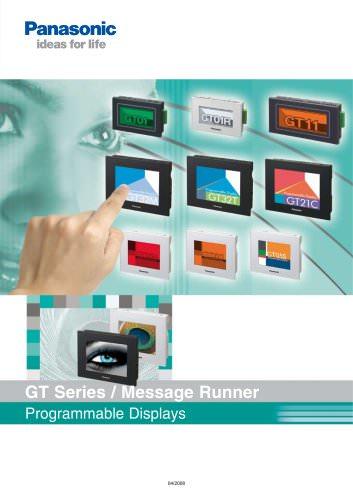 GT series / Message Runner catalog
