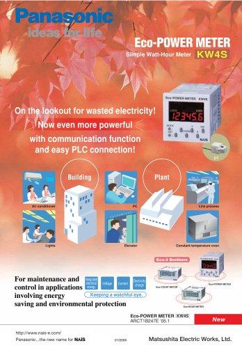 KC2S Eco-COUNT METER/KE2S Eco-HOUR METER