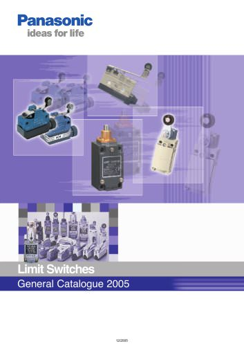 Limit Switches General Catalogue 2005