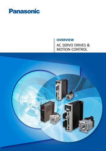 Overview AC servo drives & motion control