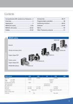 Overview AC servo drives & motion control - 3