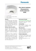 Photoelectric smoke detector 4352 - 1