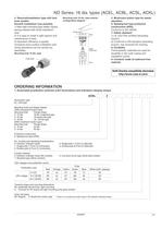 Push Button Switches - ND Series - 2