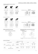 Push Button Switches - NS Series - 9