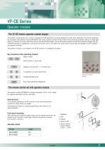 VF-0 series: the economical inverter - 9