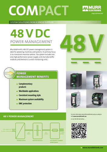 48VDC Power Management