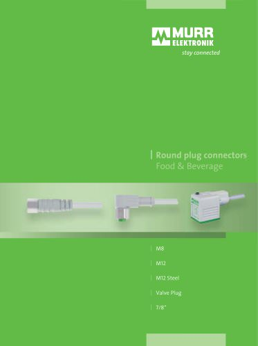 Connectors for Food and Beverage