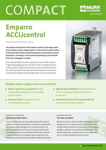 Emparro ACCUcontrol (UPS module)