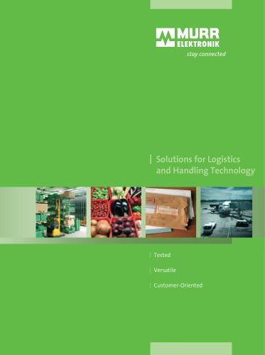 Solutions for Logistics and Handling Technology