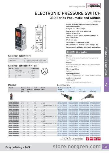 33D Series Pneumatic and Allfluid