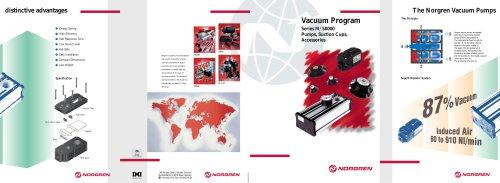 Brochure SINGLE STAGE VACUUM PUMPS