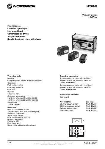 multi stage vacuum pumps