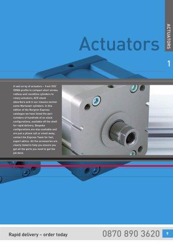 Norgren Express v3 - Actuators