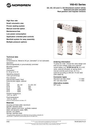 V60-63 Series