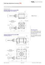 Draw-wire linear transducer SWM - 3