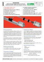 Magnetostrictive displacement transducer MPN - 1