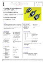 Rotary encoder PBA12 - 1