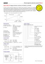 Rotary encoder TBA36 - 5