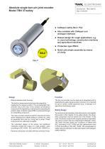 Rotary encoder TBN37 - 1
