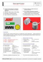 Rotary encoder TBN42 - 1