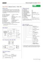 Rotary encoder TBN42 - 4