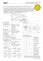 Rotary encoder TBN42 - 5