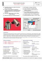 Rotary encoder TMA50 - 1