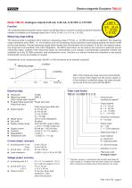 Rotary encoder TMN42 - 4